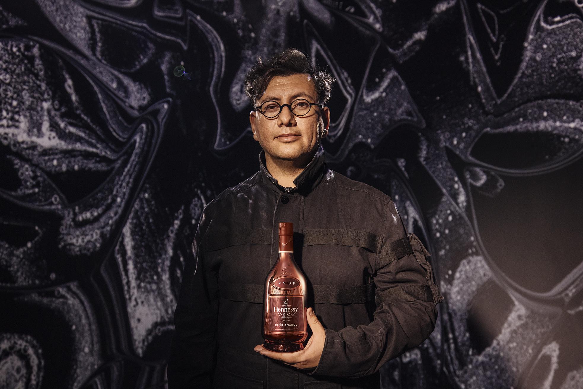Jordan Bushell Introduces The Hennessy VSOP X Refik Anadol