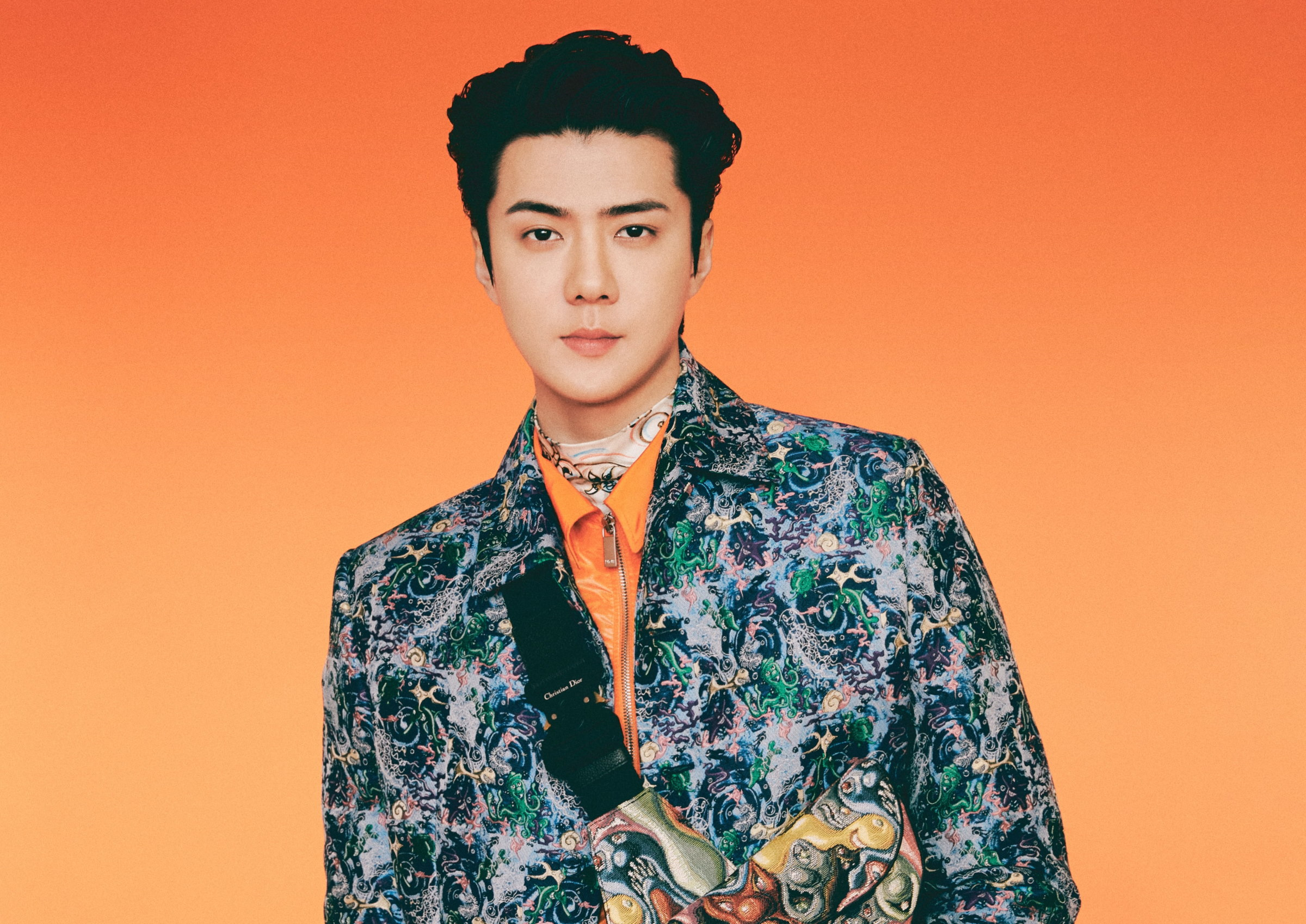 EXO's Sehun Stars In Dior Men's Fall 2021 Collection