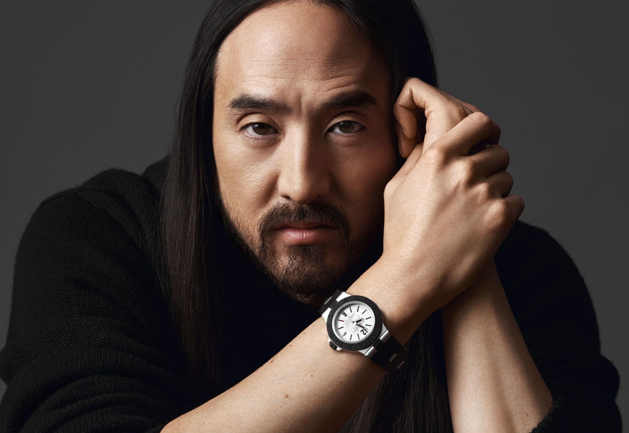 Bulgari Aluminium Steve Aoki Pays Homage To The Globally-Renowned DJ