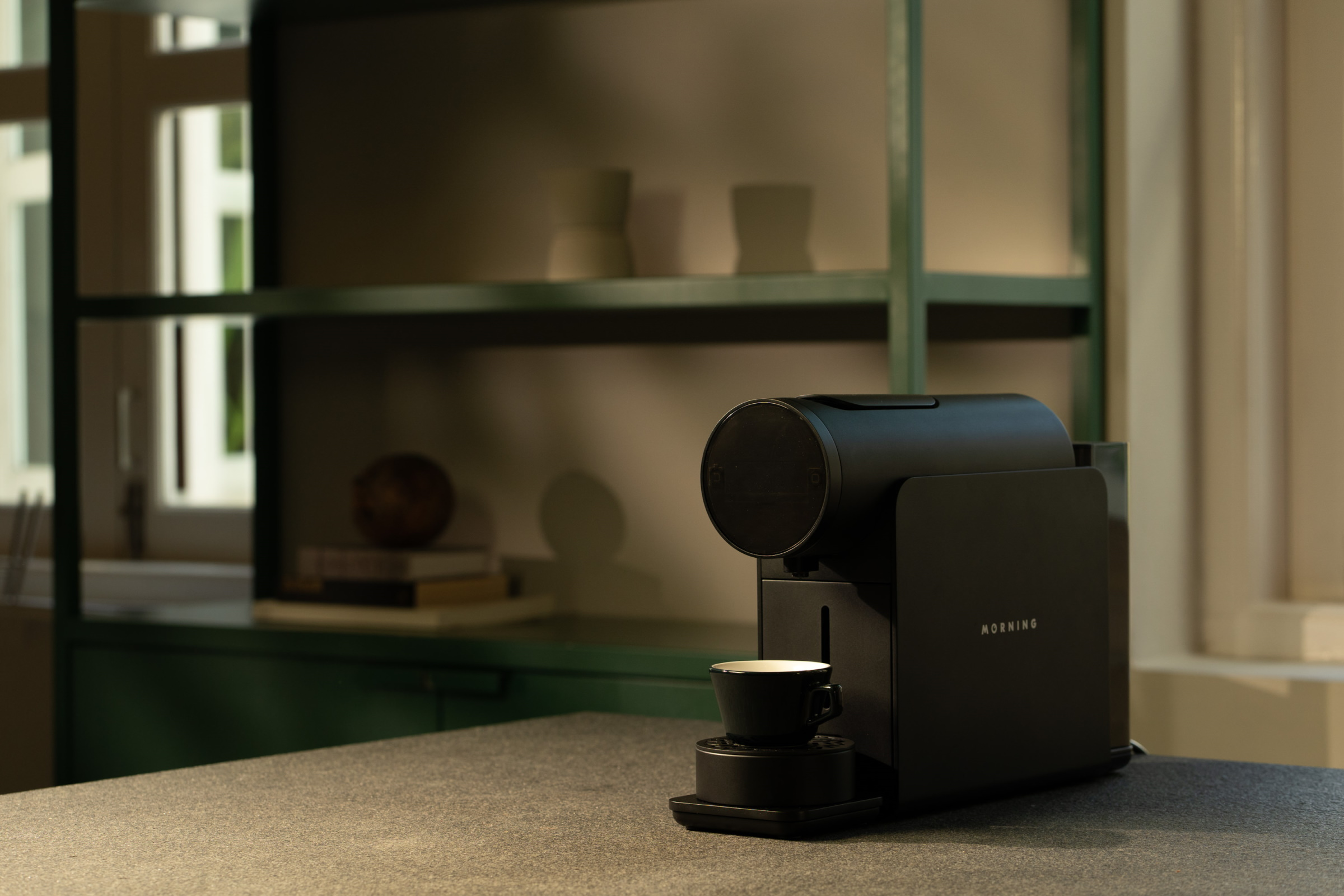 The Morning Machine Provides A Quick Way To Satisfy Your Coffee Fix
