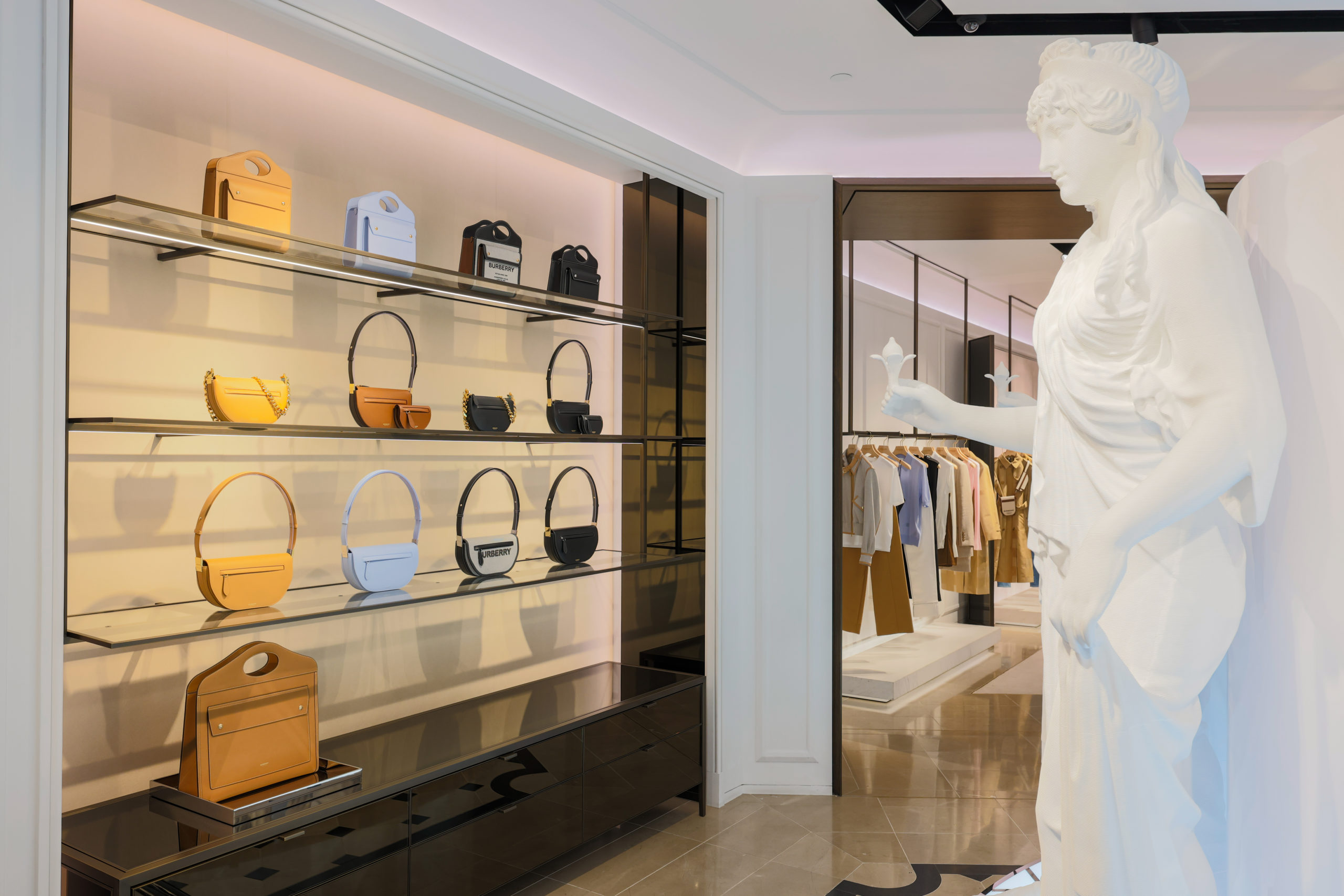 Burberry Launches Immersive Experience Pop-Up In ION Orchard