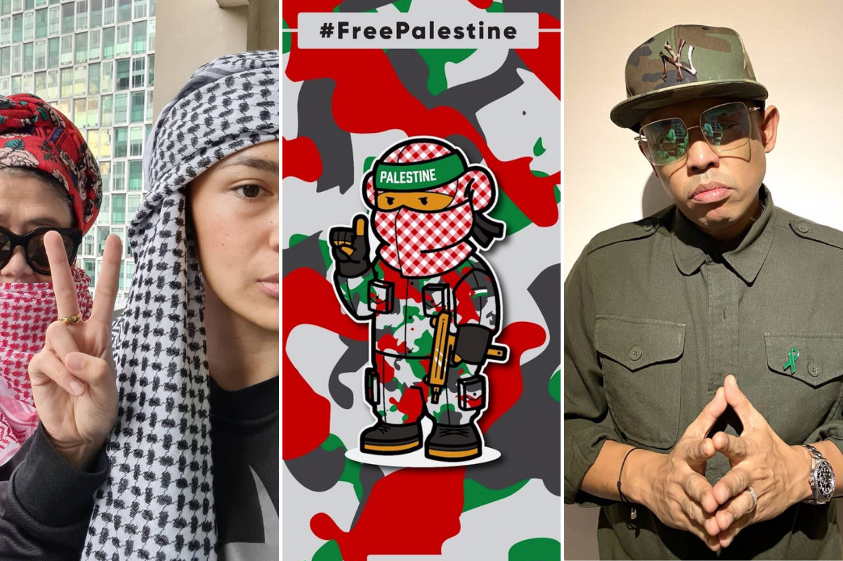 Local Celebrities Mizz Nina, Caprice And More Show Support For Palestine
