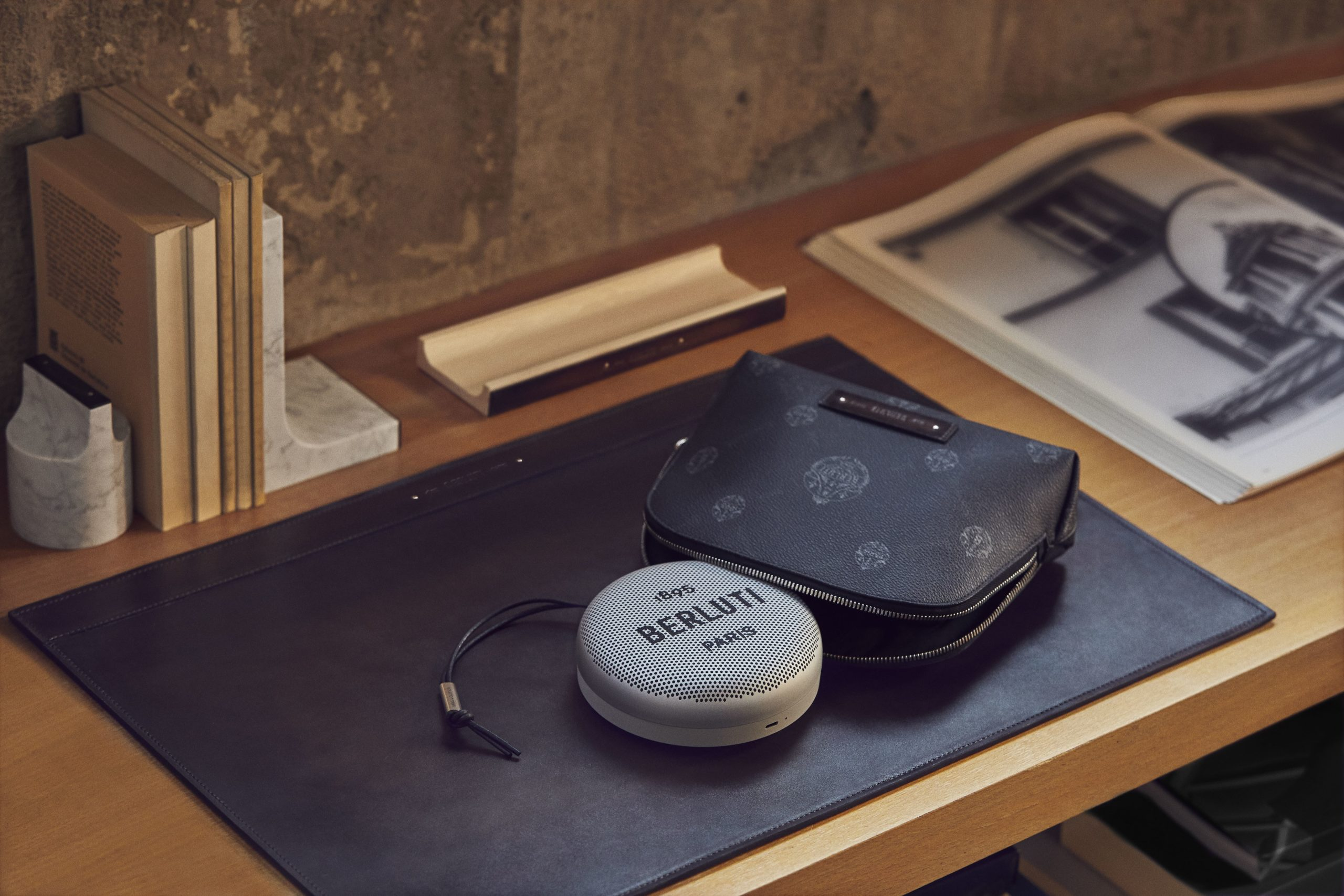 Berluti Collaborates With Bang & Olufsen For Limited-Edition Audiovisual Series