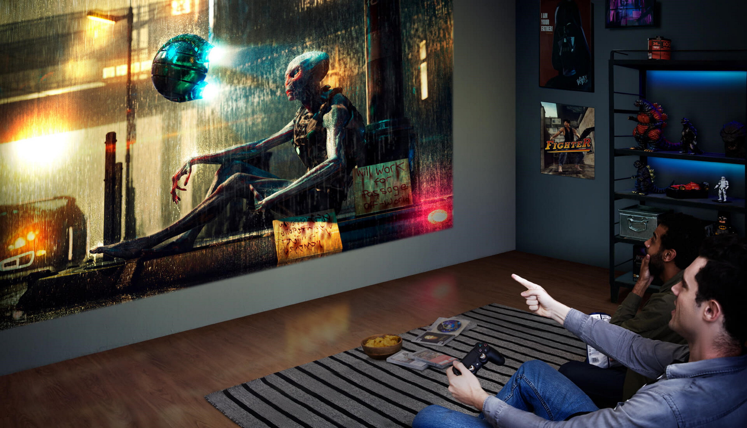 BenQ's First 4K HDR Gaming Projector Is The Ultimate Entertainment Hub