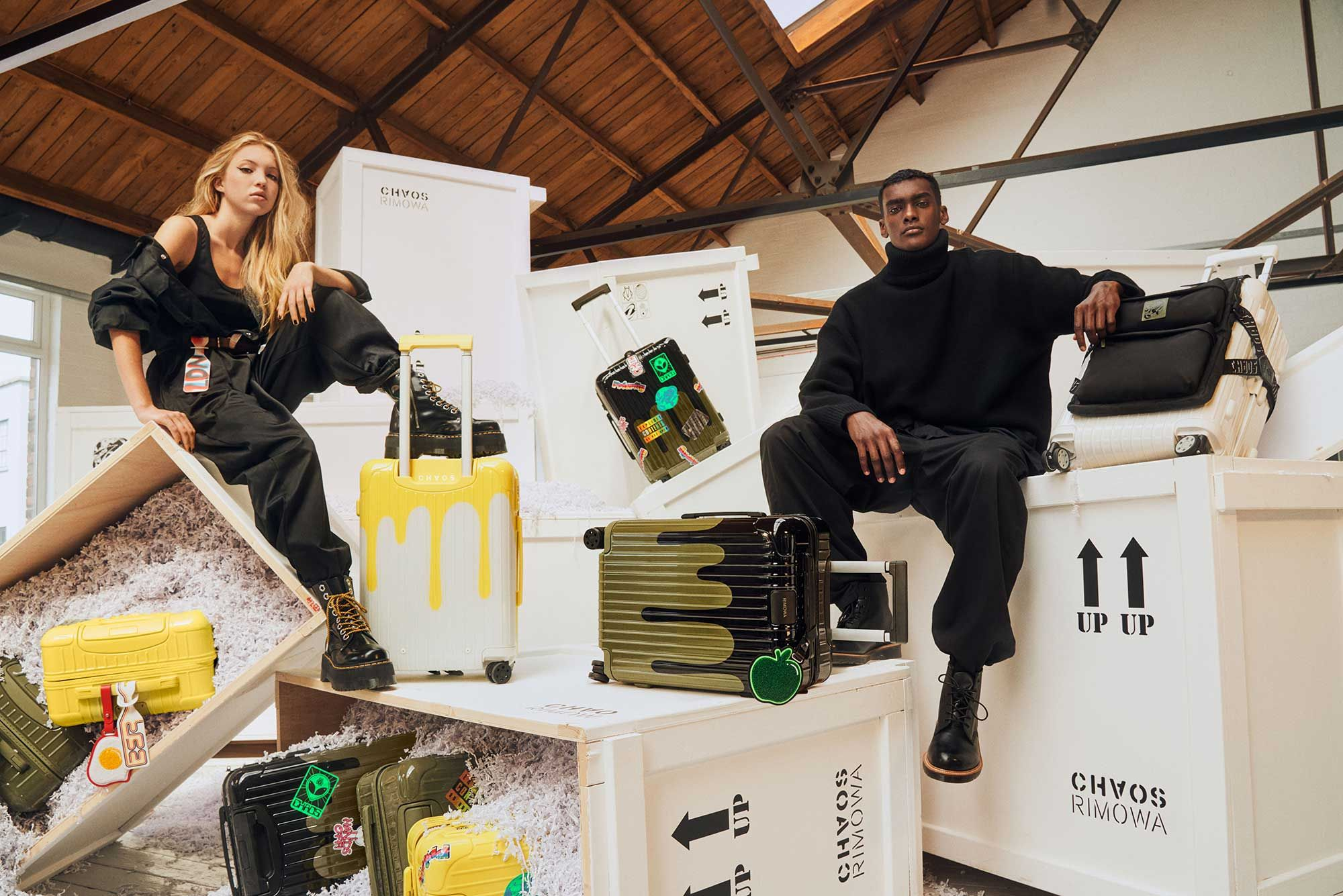 Rimowa x Chaos Collaboration Brings Imaginative Possibilities For Travelling In Style