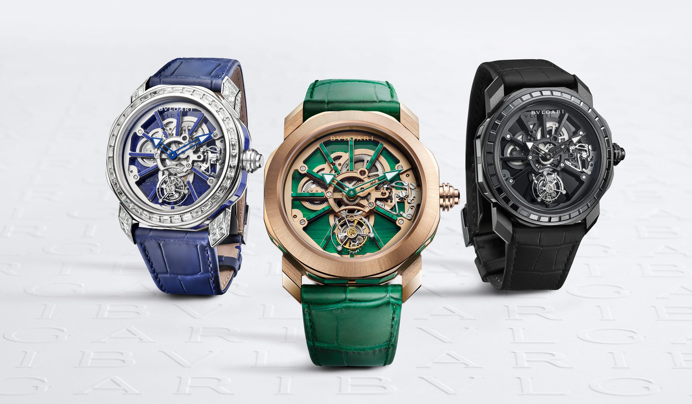 Bvlgari Unveils Customisable Octo Roma Naturalia Watch Series