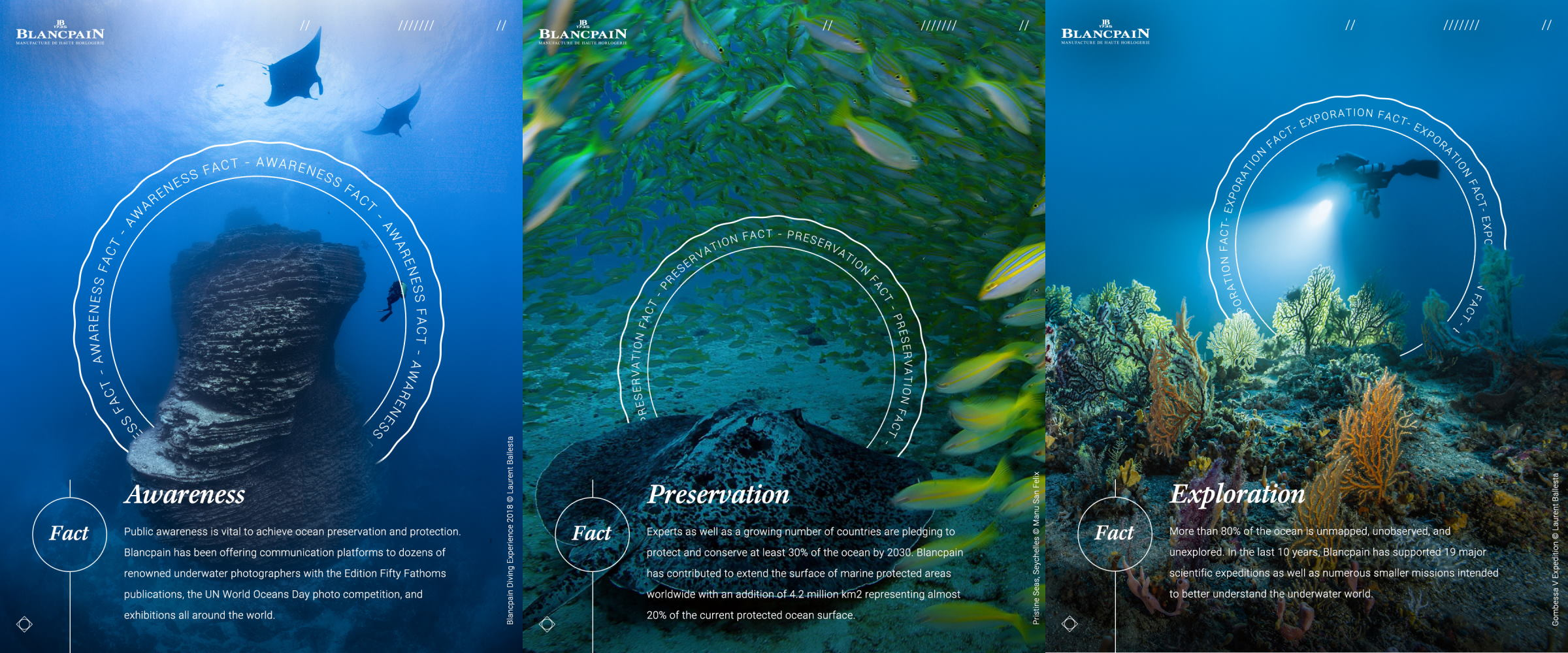 Blancpain's Ocean Commitment Is About Protecting Our Most Precious Resource