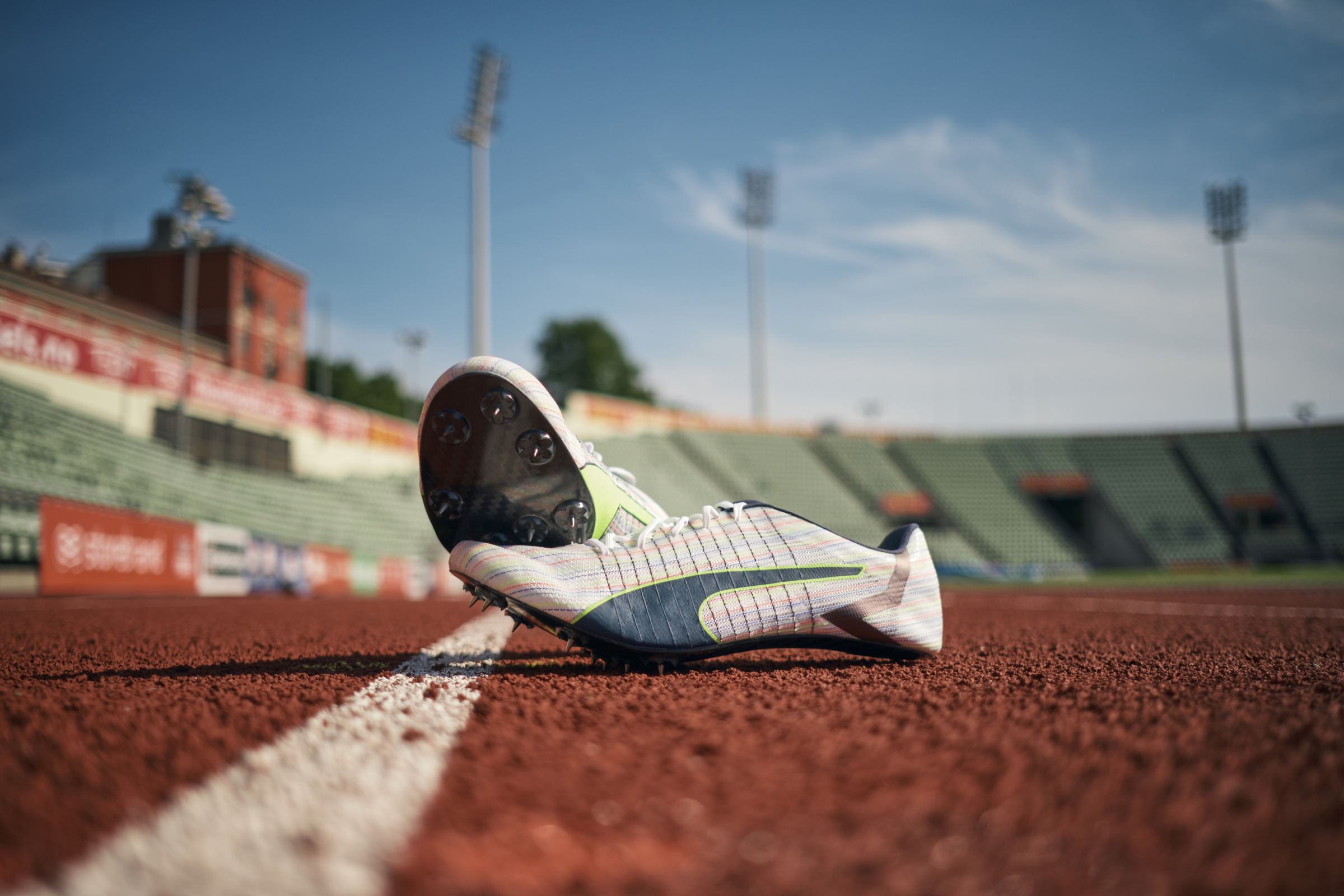 Puma Collaborates With Mercedes AMG Petronas F1 For Faster+ Track & Field Spikes