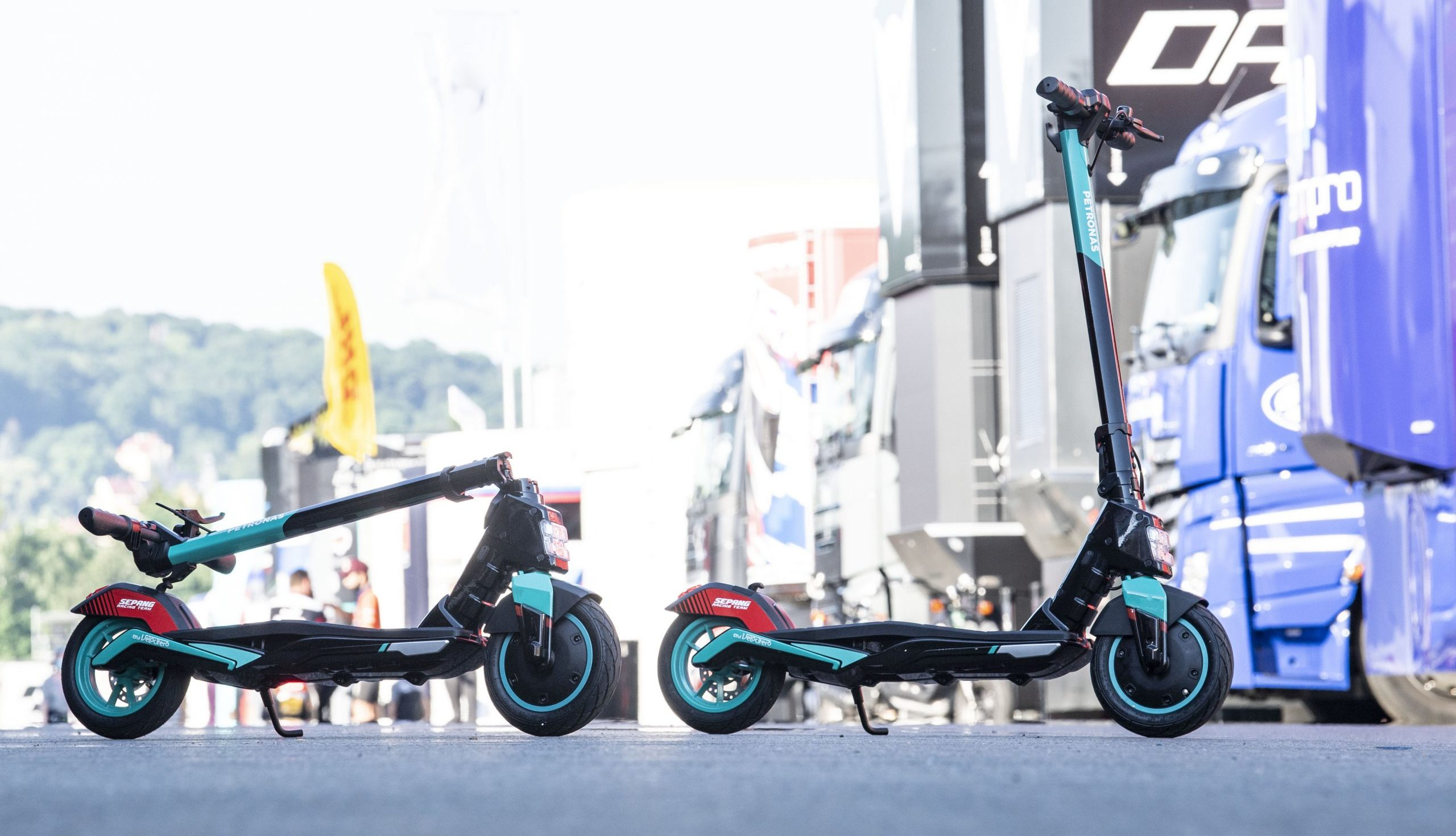 The Petronas SRT Electric Kick Scooter Merges MotoGP With E-Mobility