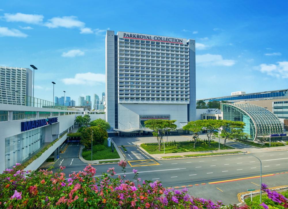 Parkroyal Collection Marina Bay facade