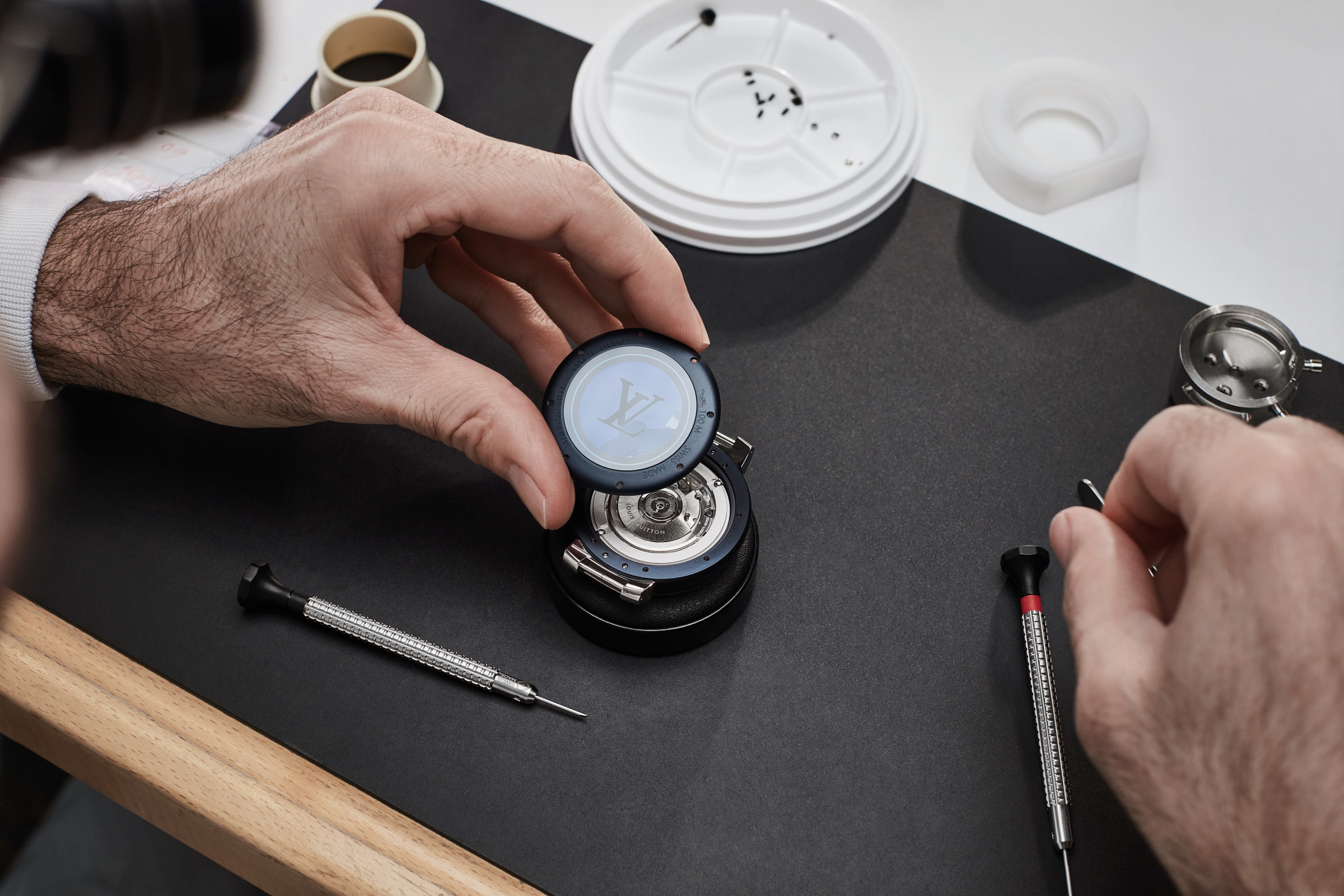 Louis Vuitton Carves Its Own Path In Watchmaking With The Tambour Street Diver