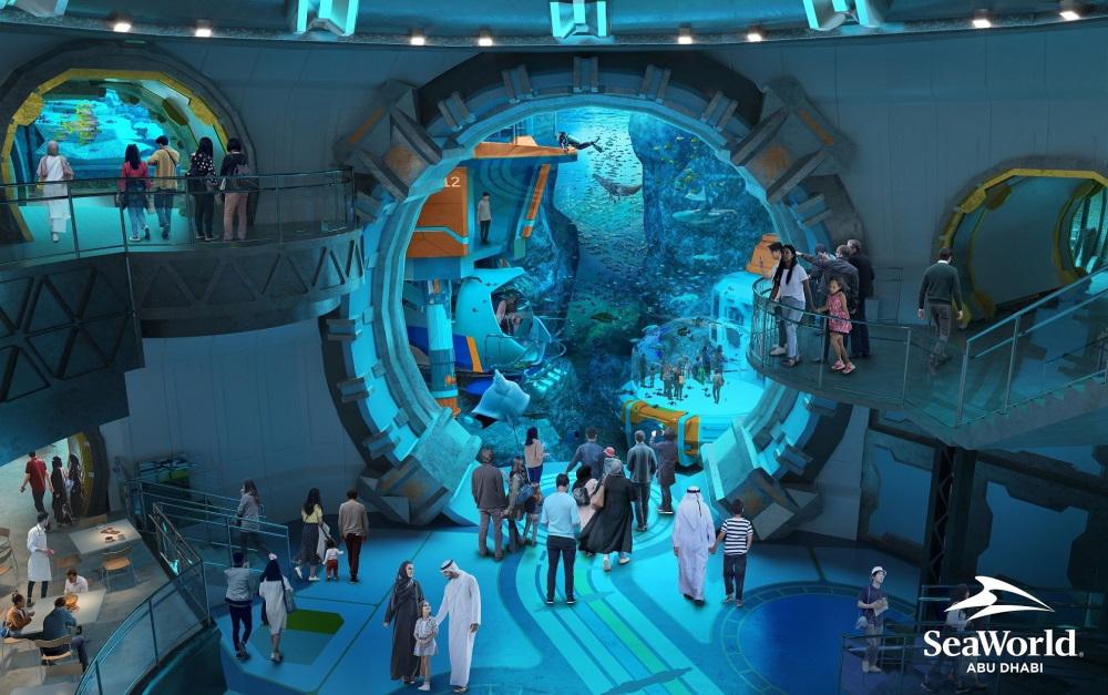 world's largest aquarium abu dhabi