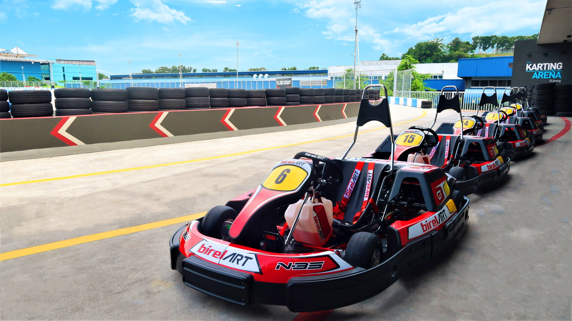 The Karting Arena To Open Its Second Track, This Time In Jurong