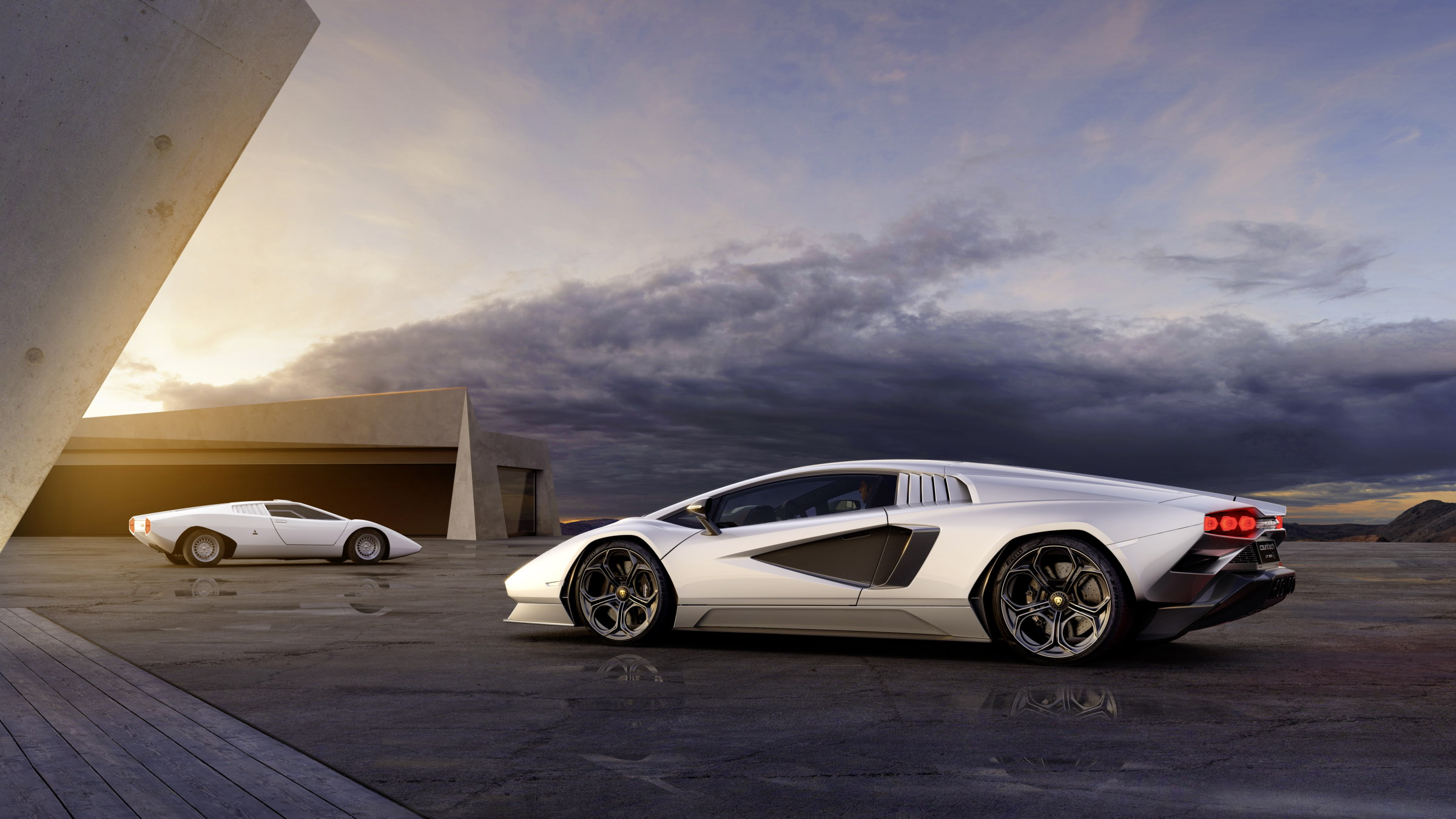 The Lamborghini Countach Is Now A Hybrid And That's Perfectly Fine