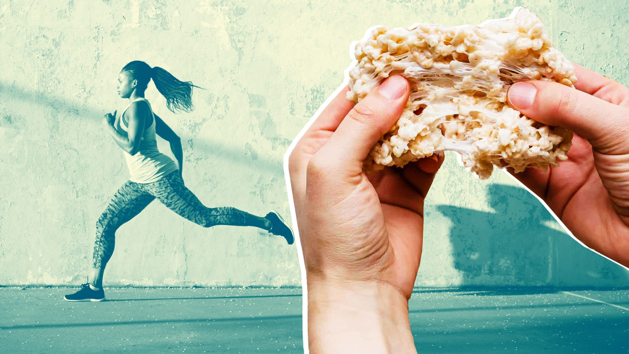 TikTok Users Are Eating Rice Krispies Treats Before Their Workouts—And It's Not Bad Advice