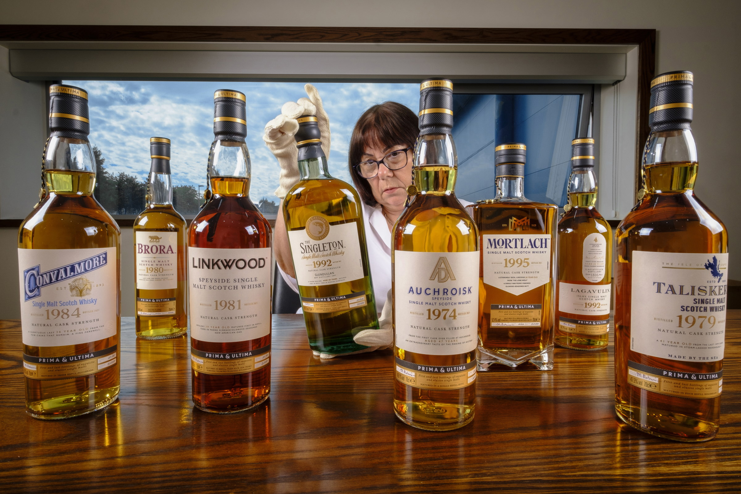 Diageo Master Blender Maureen Robinson Discusses Whisky And The Prima & Ultima Collection