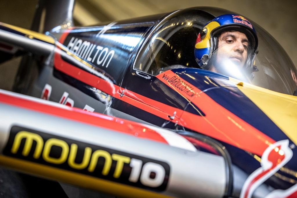 Italian pilot Dario Costa