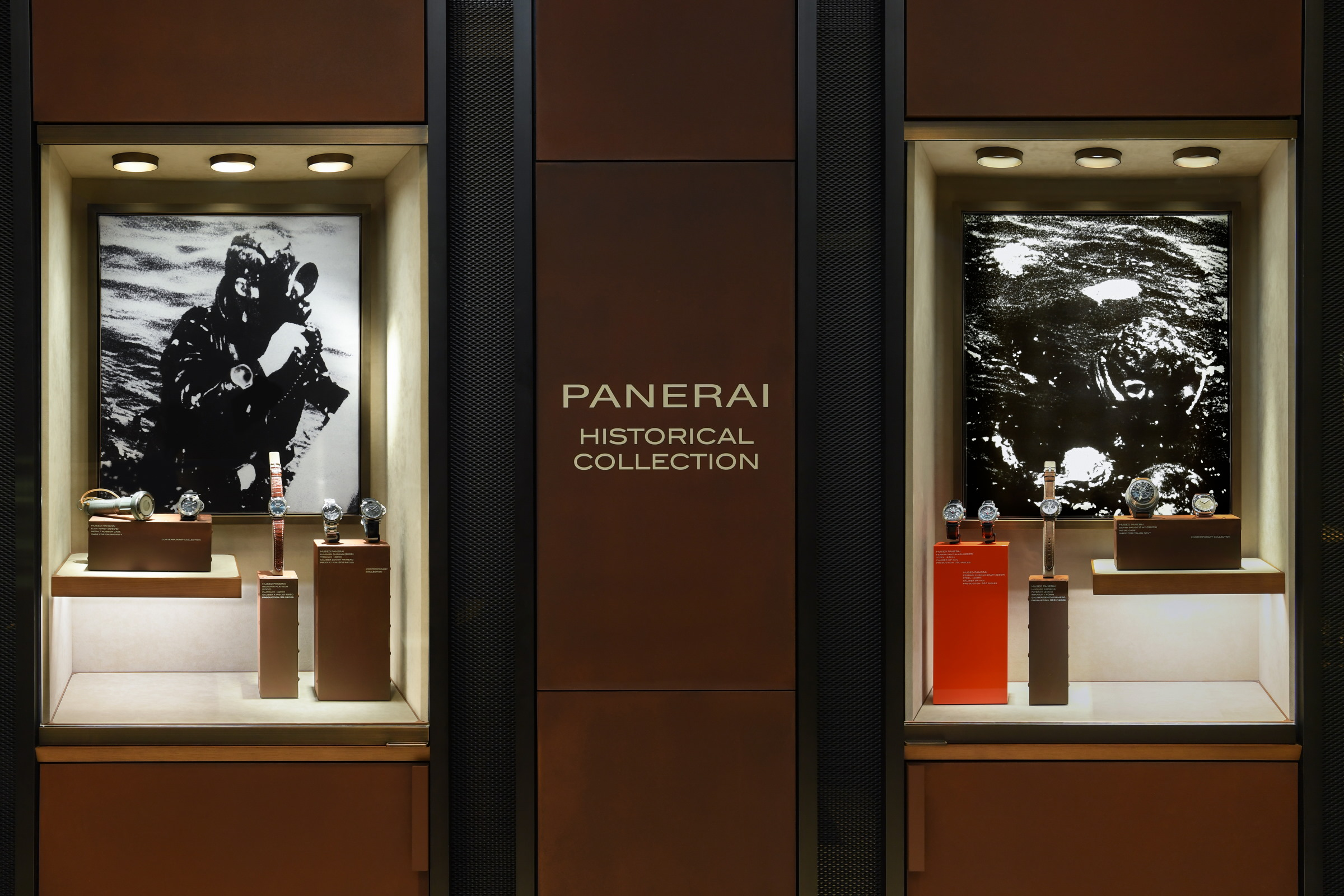 Panerai Unveils Its Historical Collection In Several Boutiques Across The World Including Singapore
