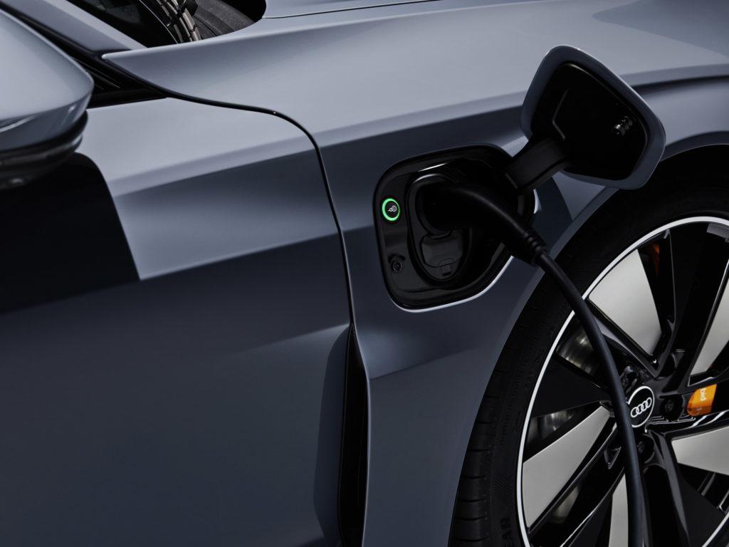Audi e-tron GT charger