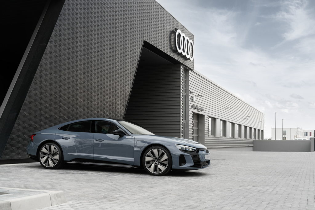 Audi e-tron GT new