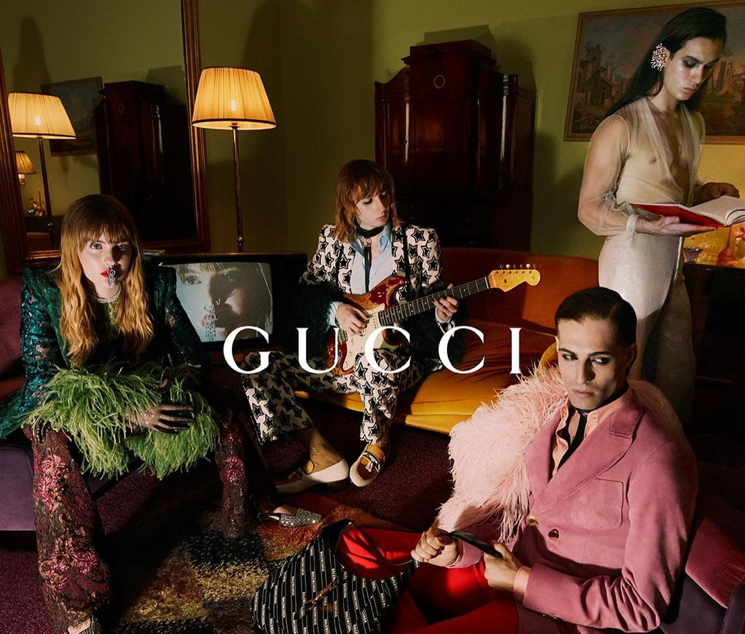 Uncovering The Beauty Of The Gucci Aria Campaign