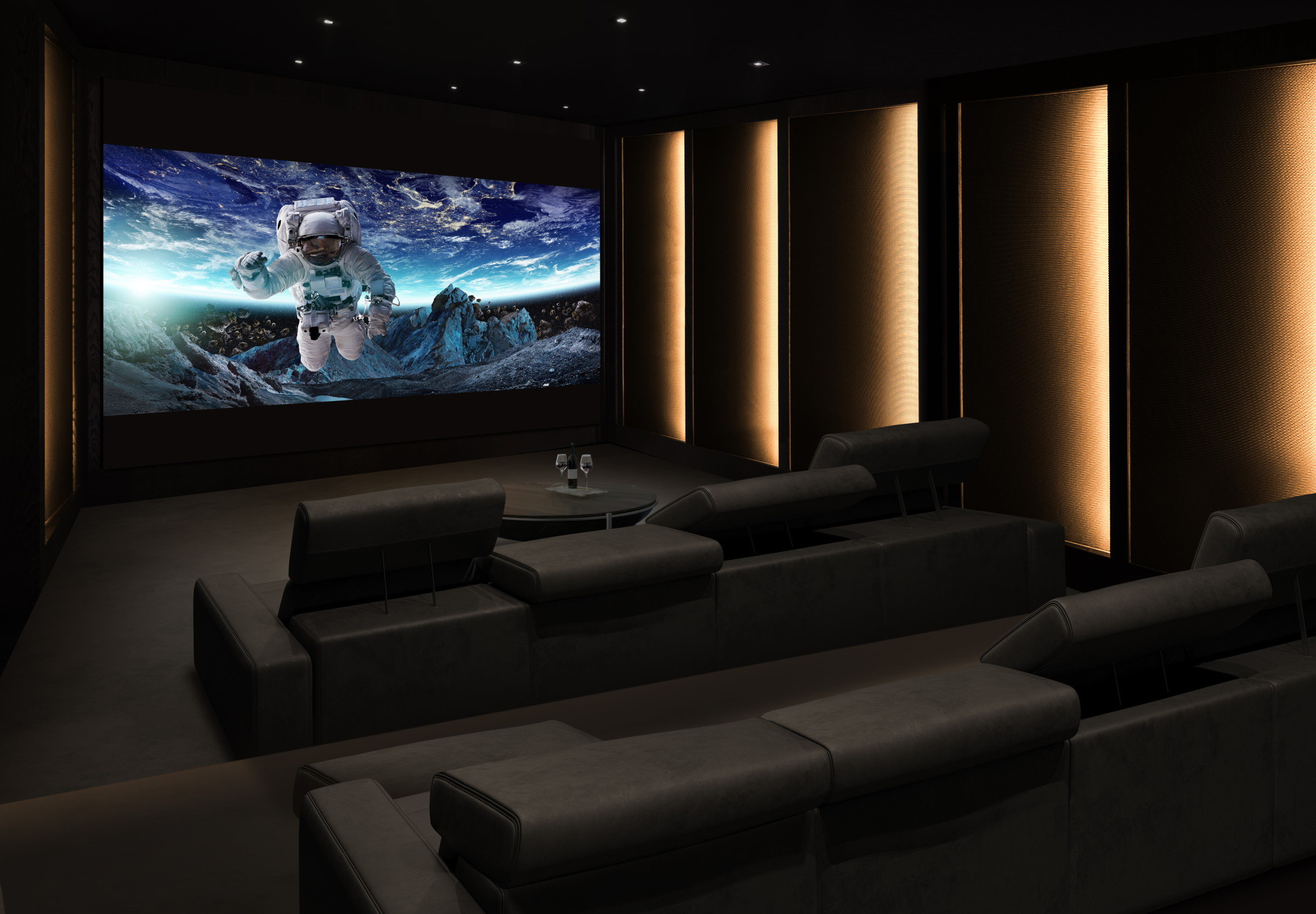 Build Your Own Home Theatre With LG's New Extreme Home Cinema