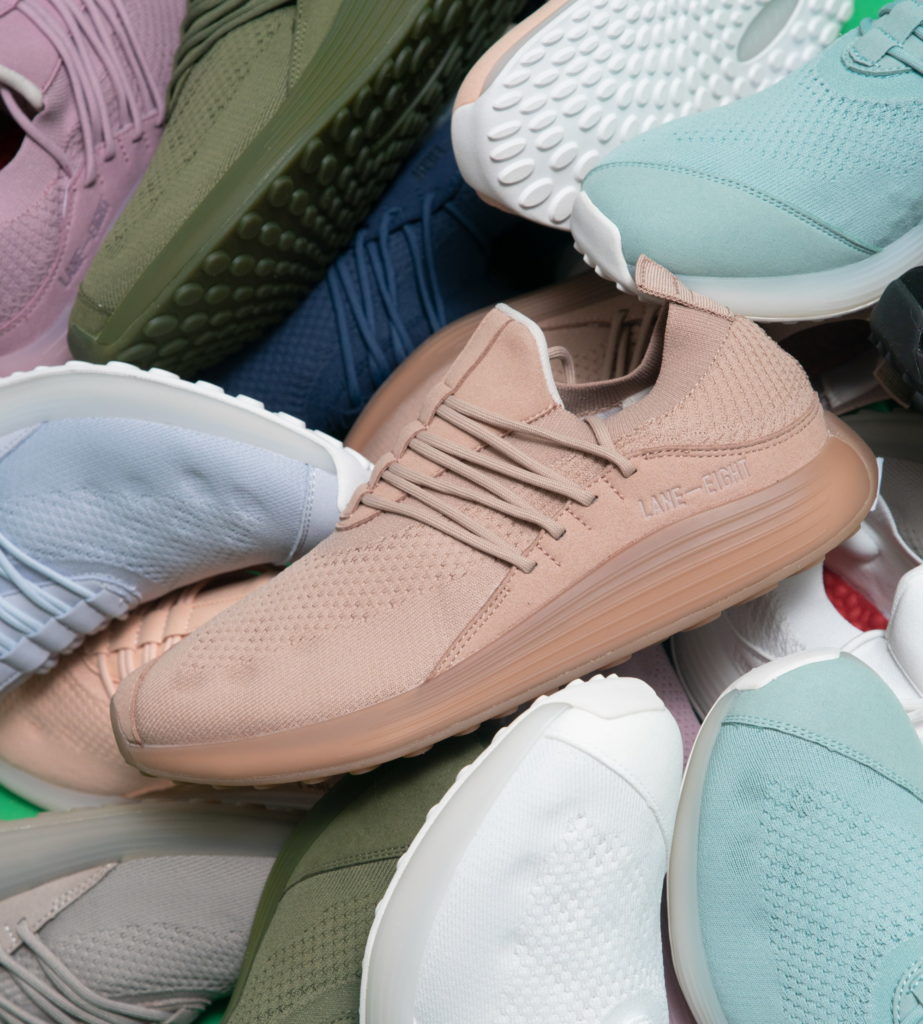 sustainable footwear lane eight