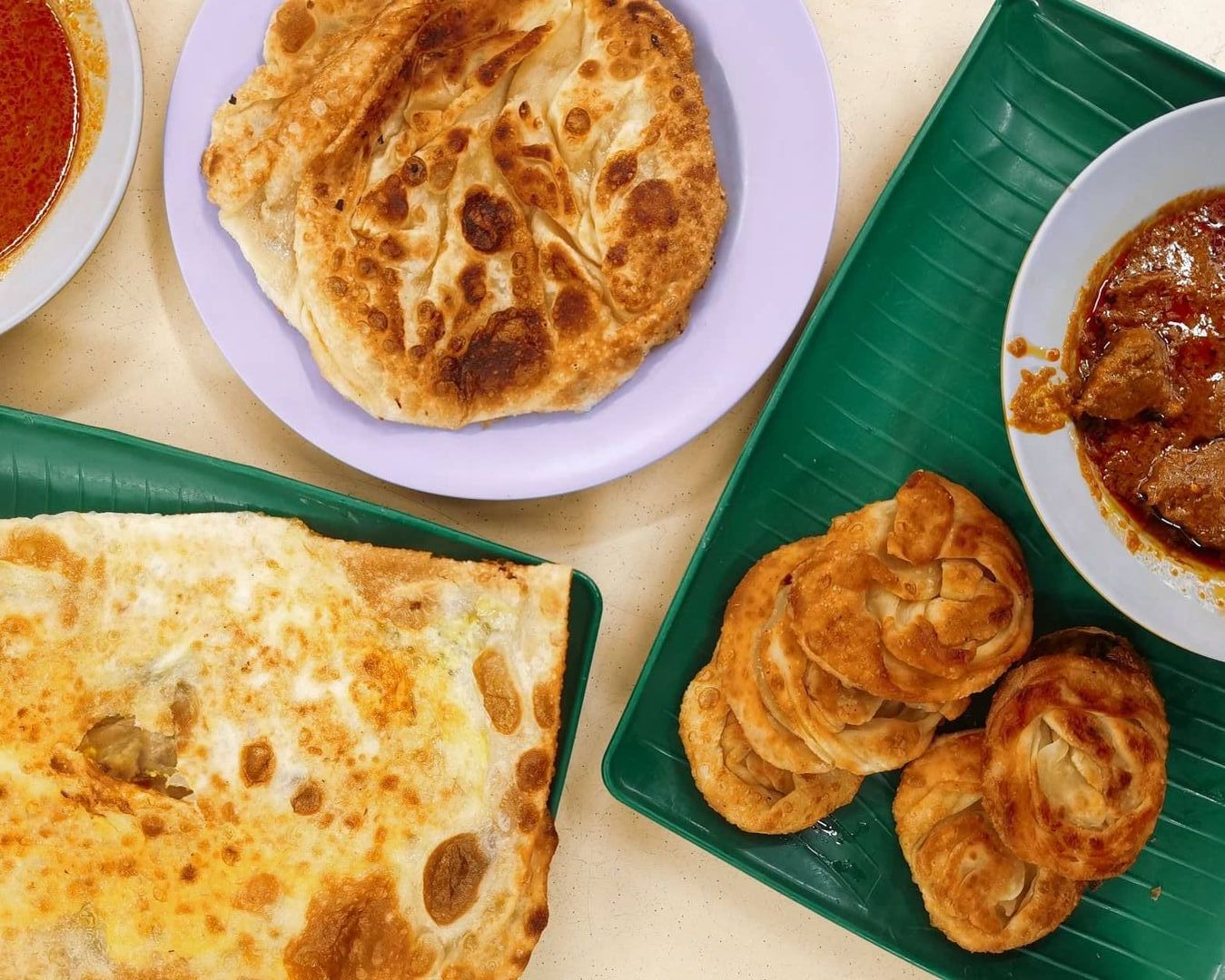 Uncovering The Best Roti Prata In Singapore