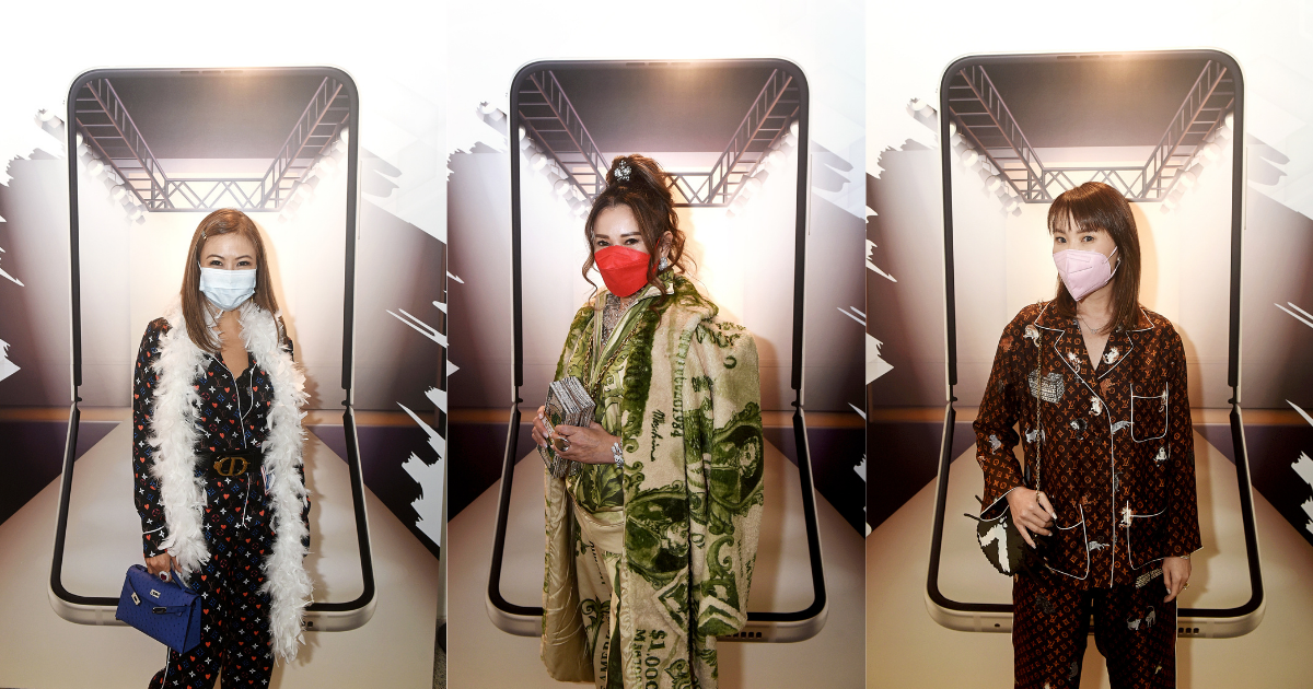 Fashion And Tech Come Together At The Samsung Z Night Runway