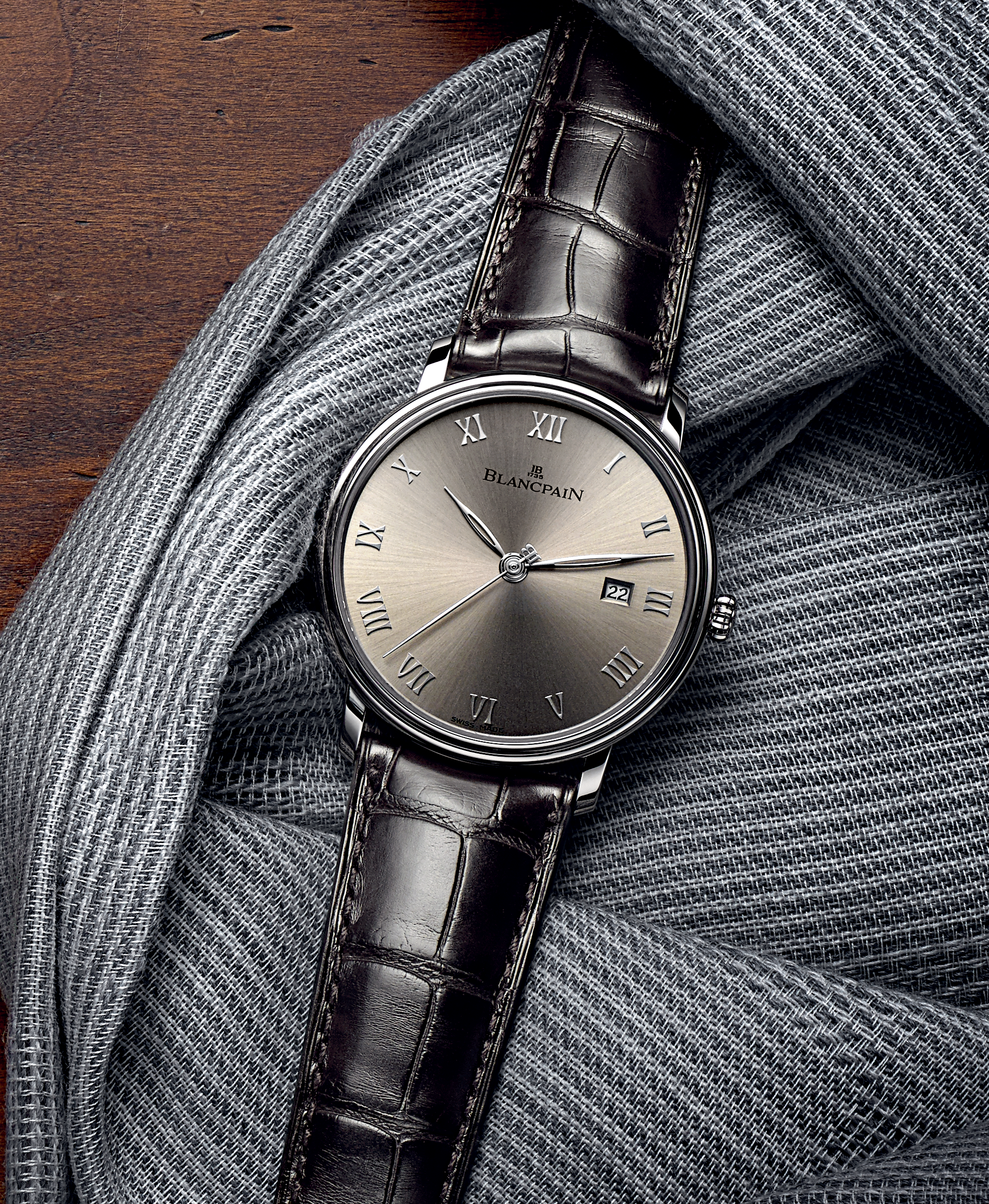 Blancpain Villeret Ultraplate, Bathyscaphe Chronograph and Tailoring: emblems of Men's lifestyle