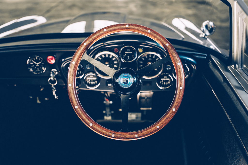 Aston Martin DB5 Junior interior