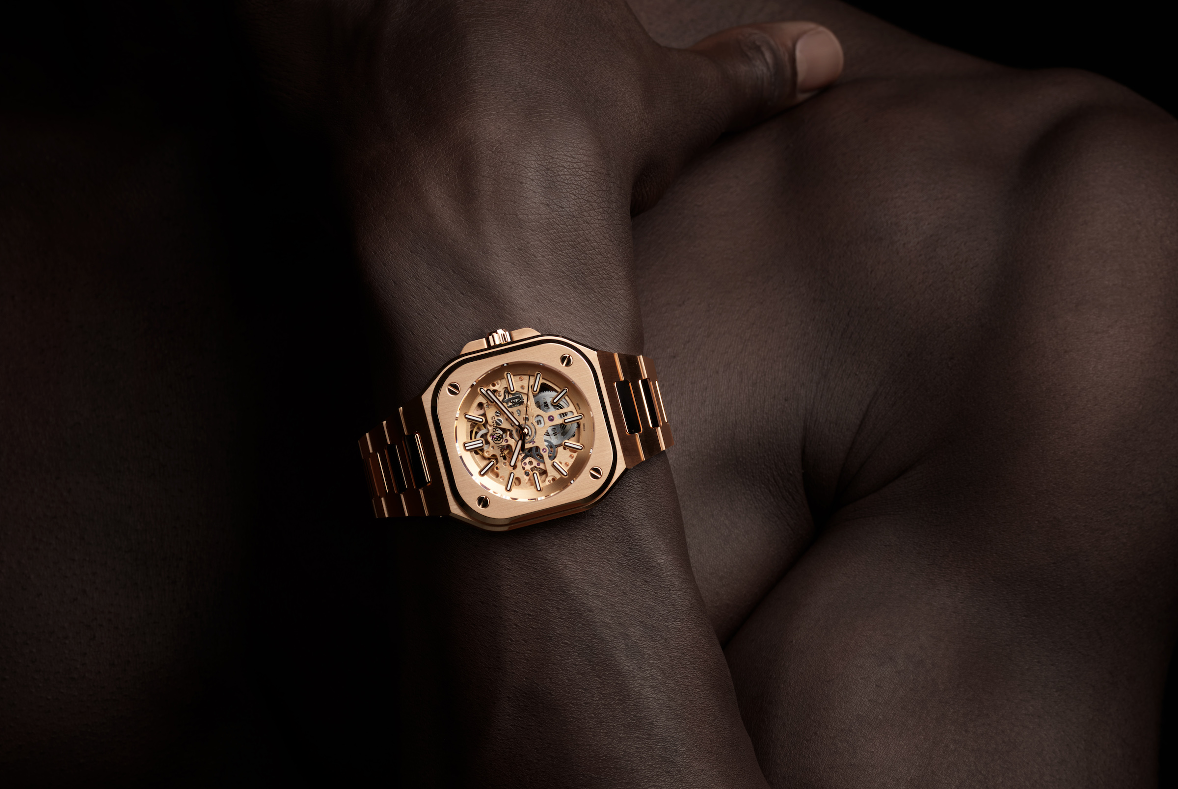 Precious Time: Bell & Ross Releases Limited Edition BR 05 Skeleton Gold