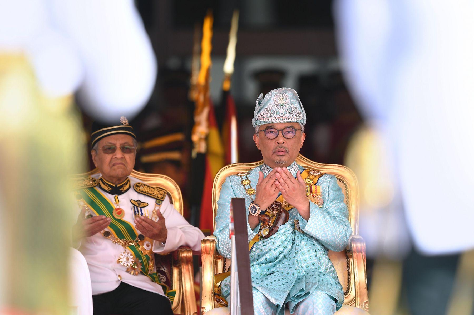 Malaysian King Yang di-Pertuan Agong Al-Sultan Abdullah Al-Haj