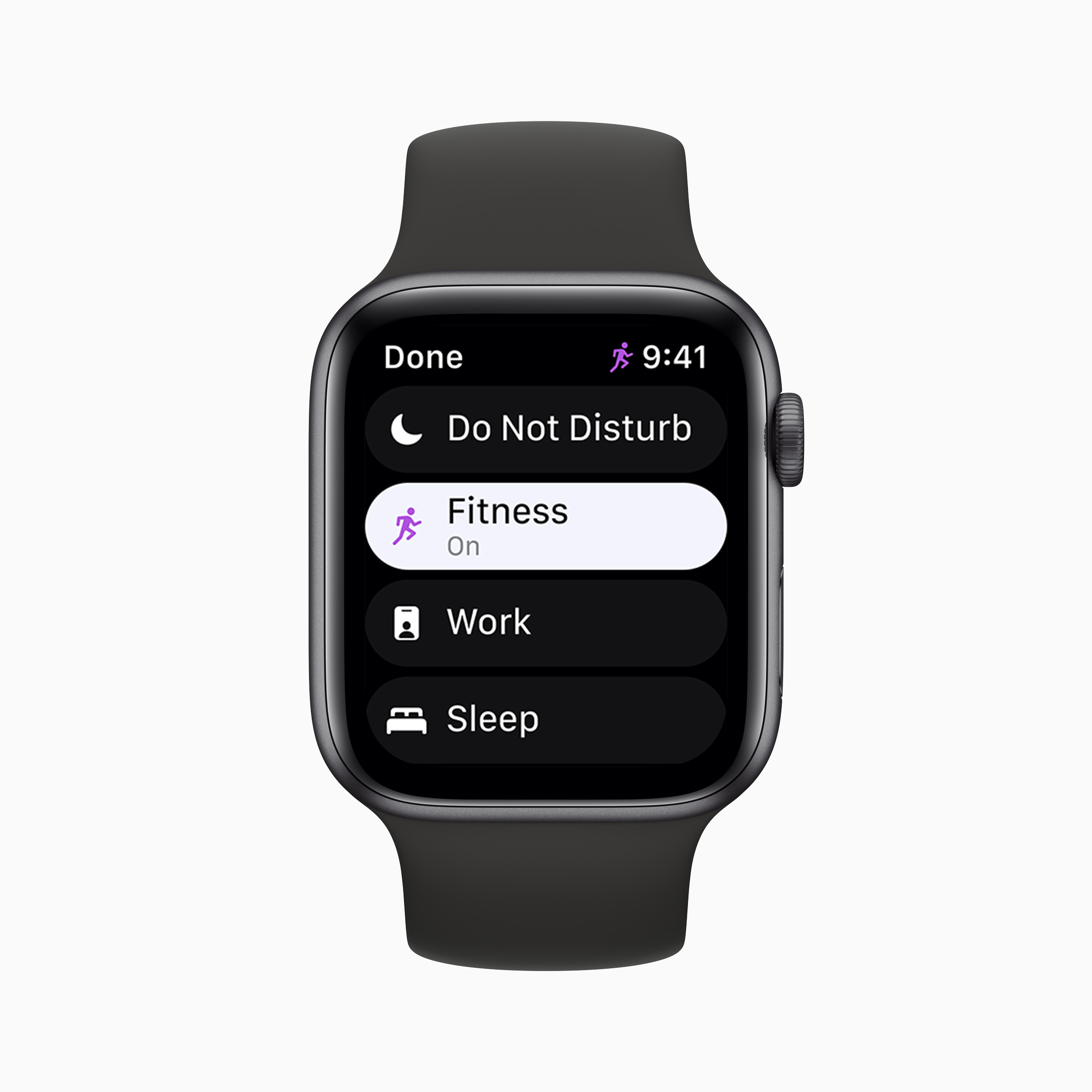 Apple Watch watchOS 8 Focus