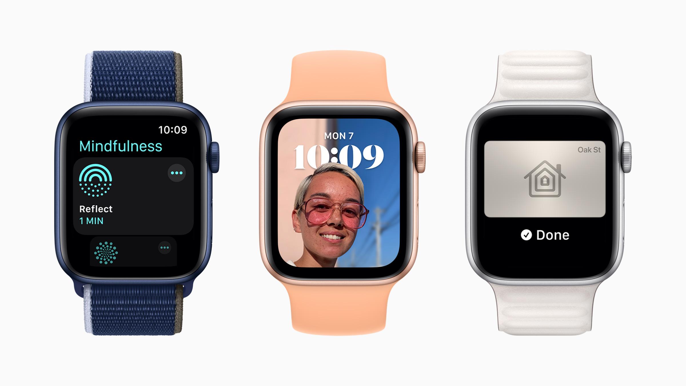 Apple Watch watchOS 8 Photos