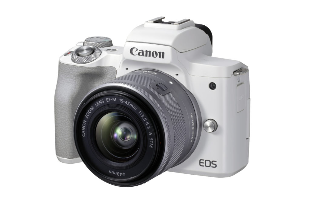 Canon EOS M50 Mark II (White)