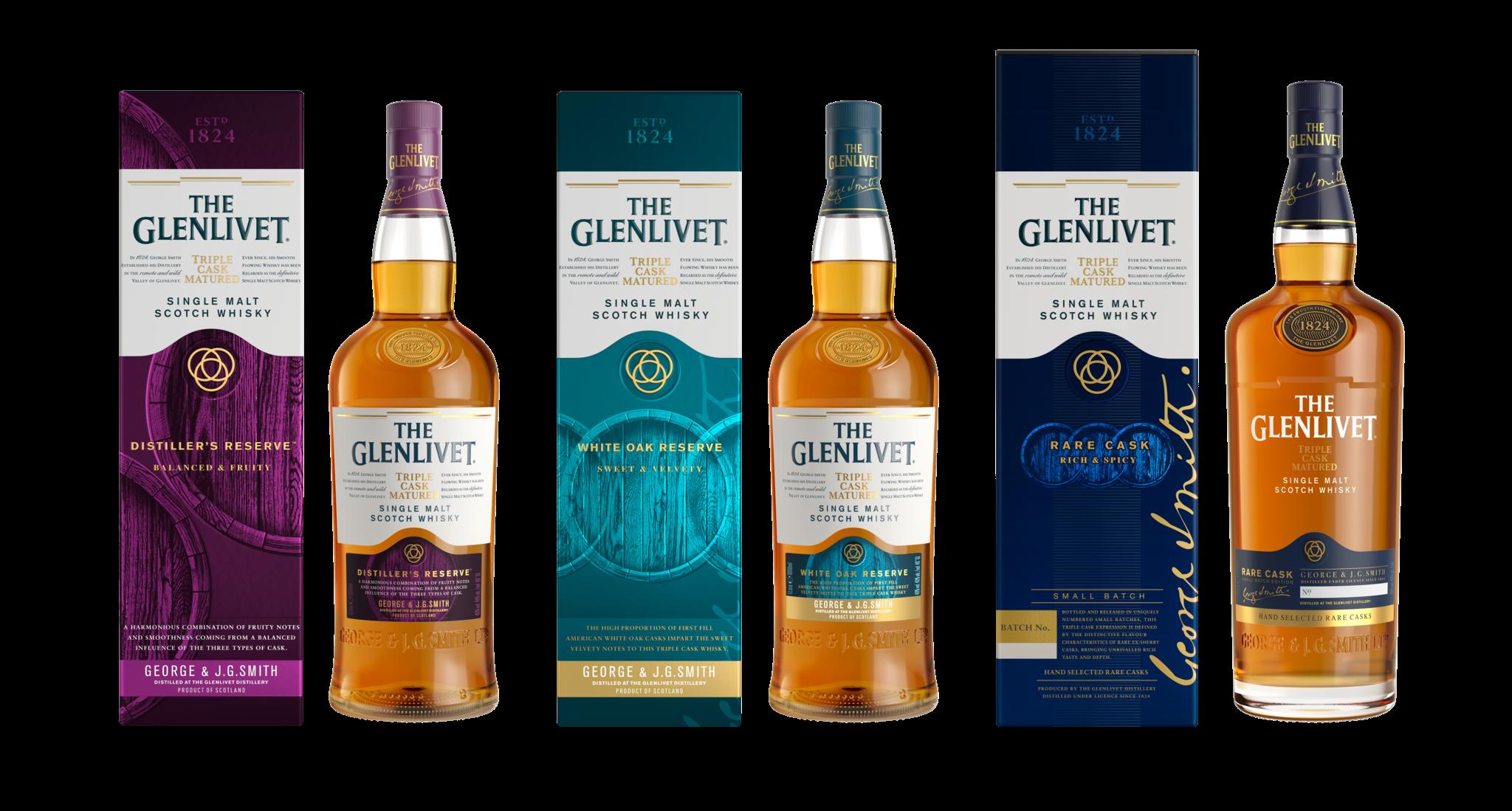 The Glenlivet Triple Cask Seriesduty-free whiskies