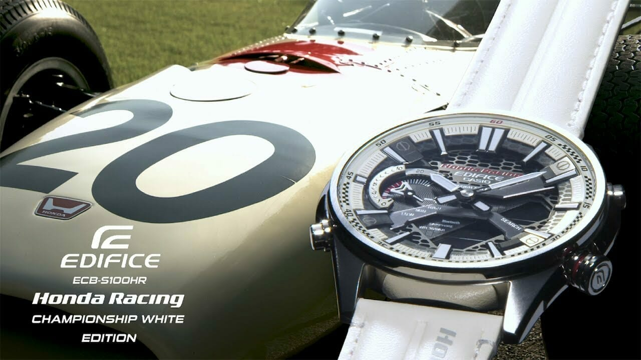 Casio Releases New Edifice Collaboration Model With Honda Racing
