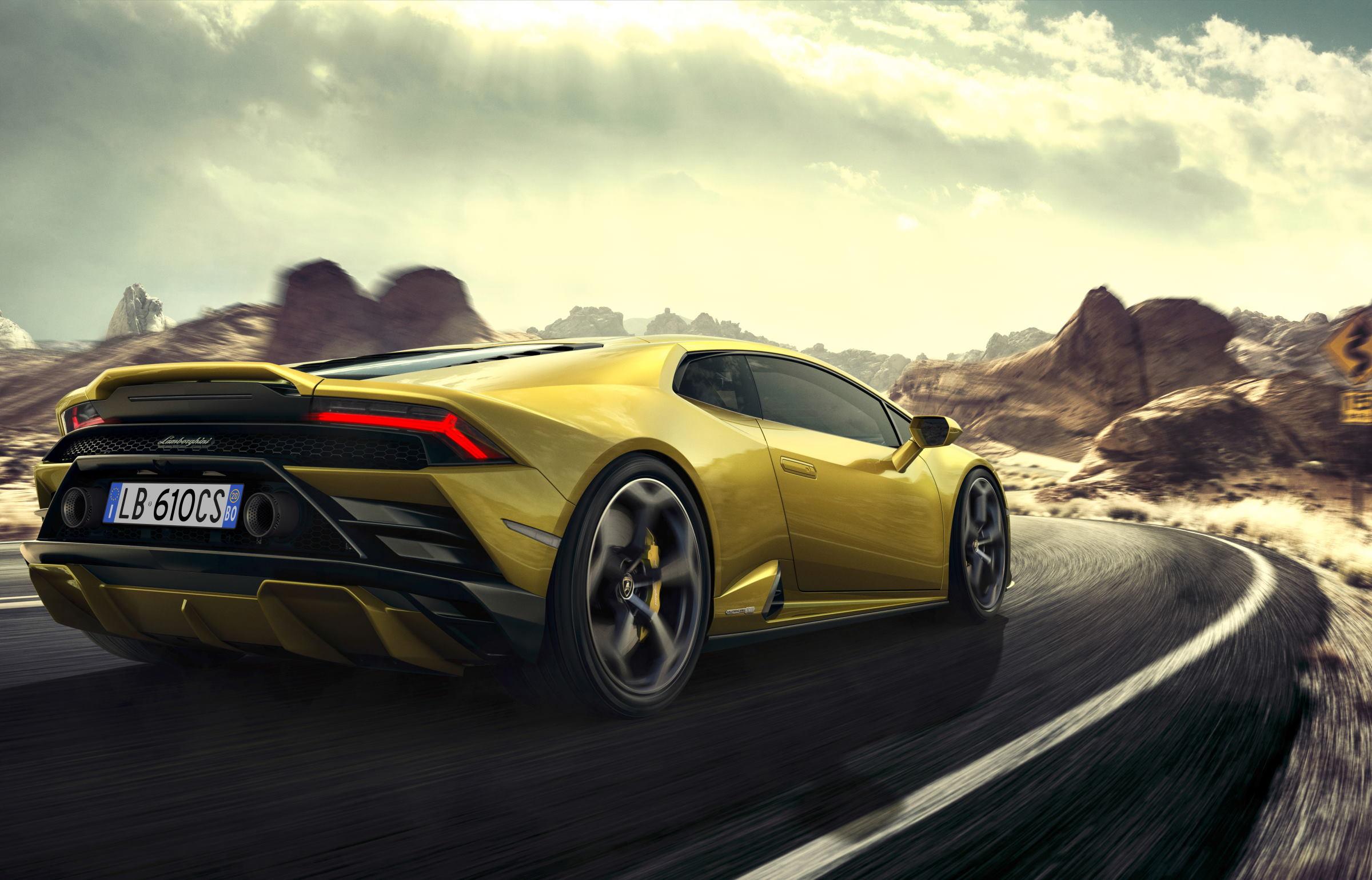 The Car You Pilot: Lamborghini Huracán Evo RWD