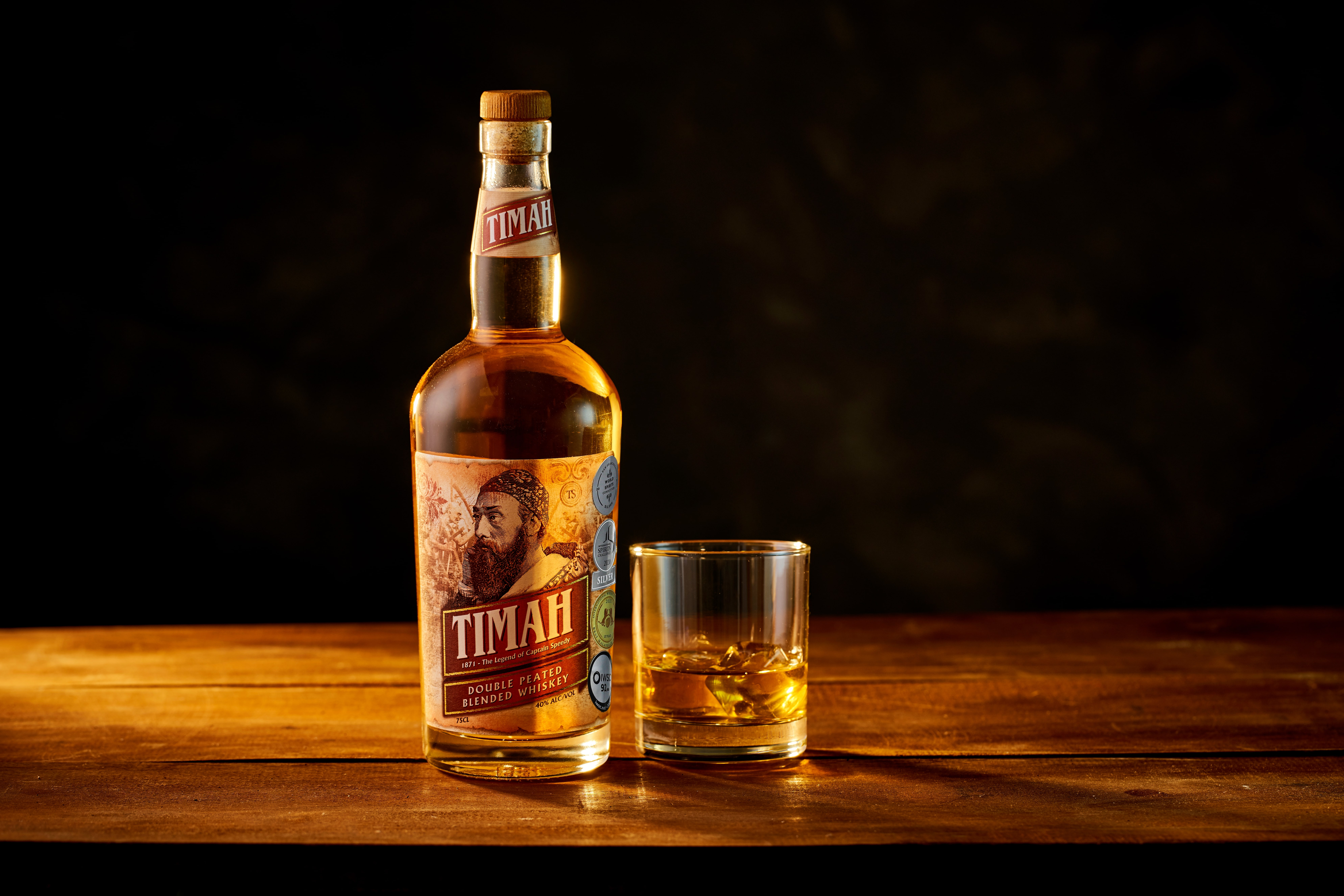 Timah Is Malaysia's Award-Winning, Double Peated Whisky